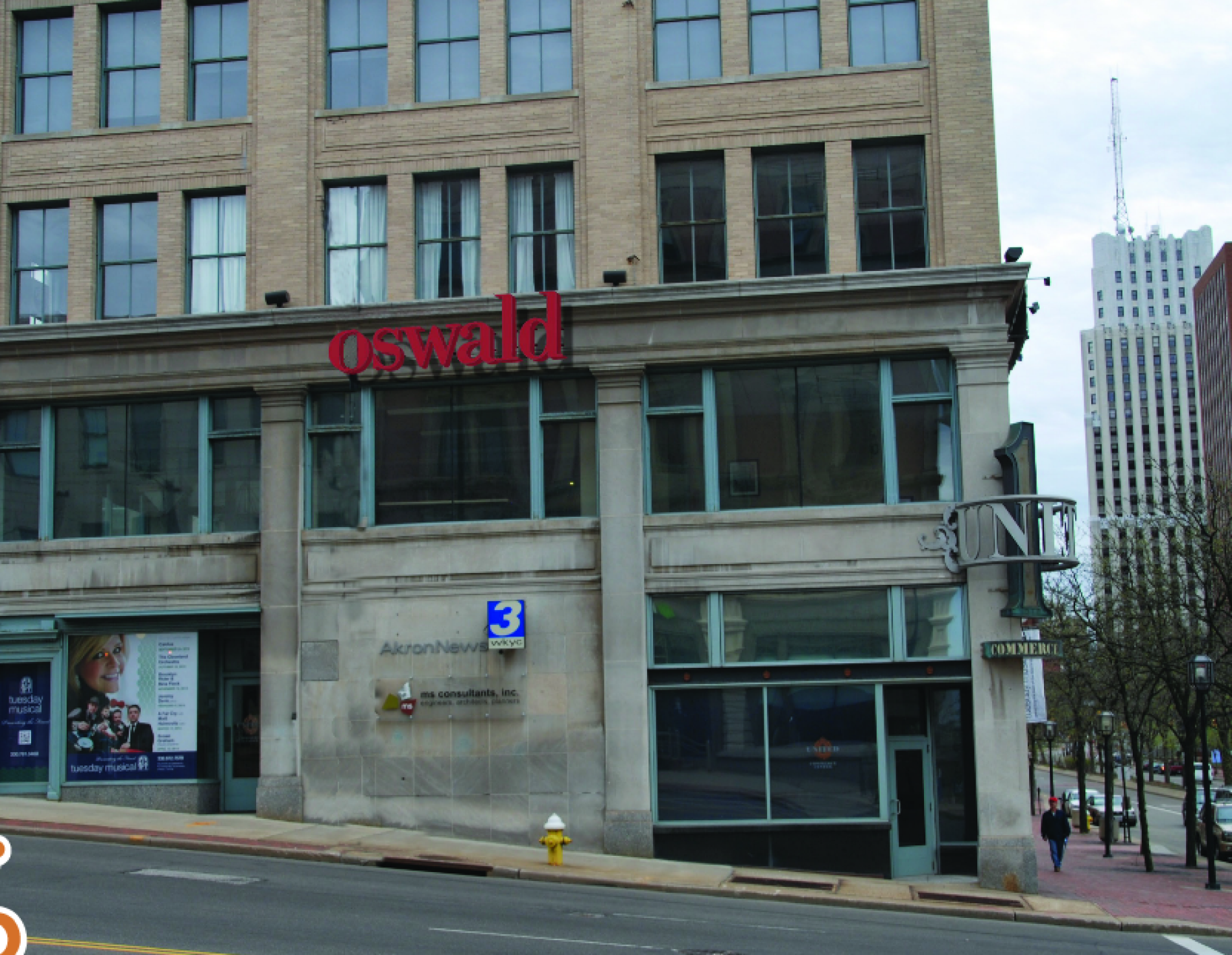 View of Oswald Companies Akron Branch