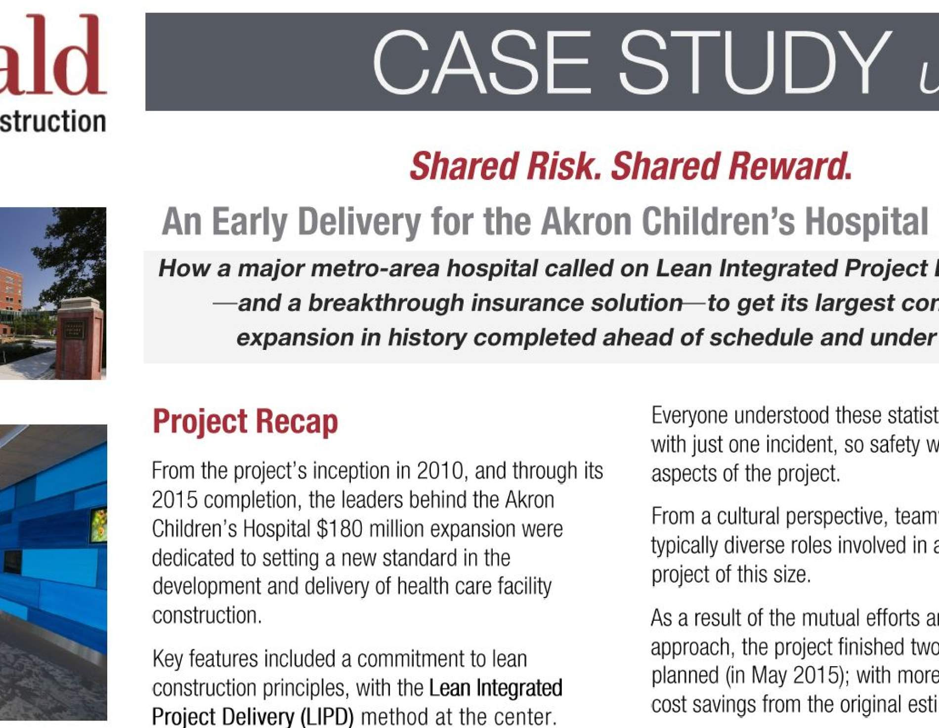 Akron Case study