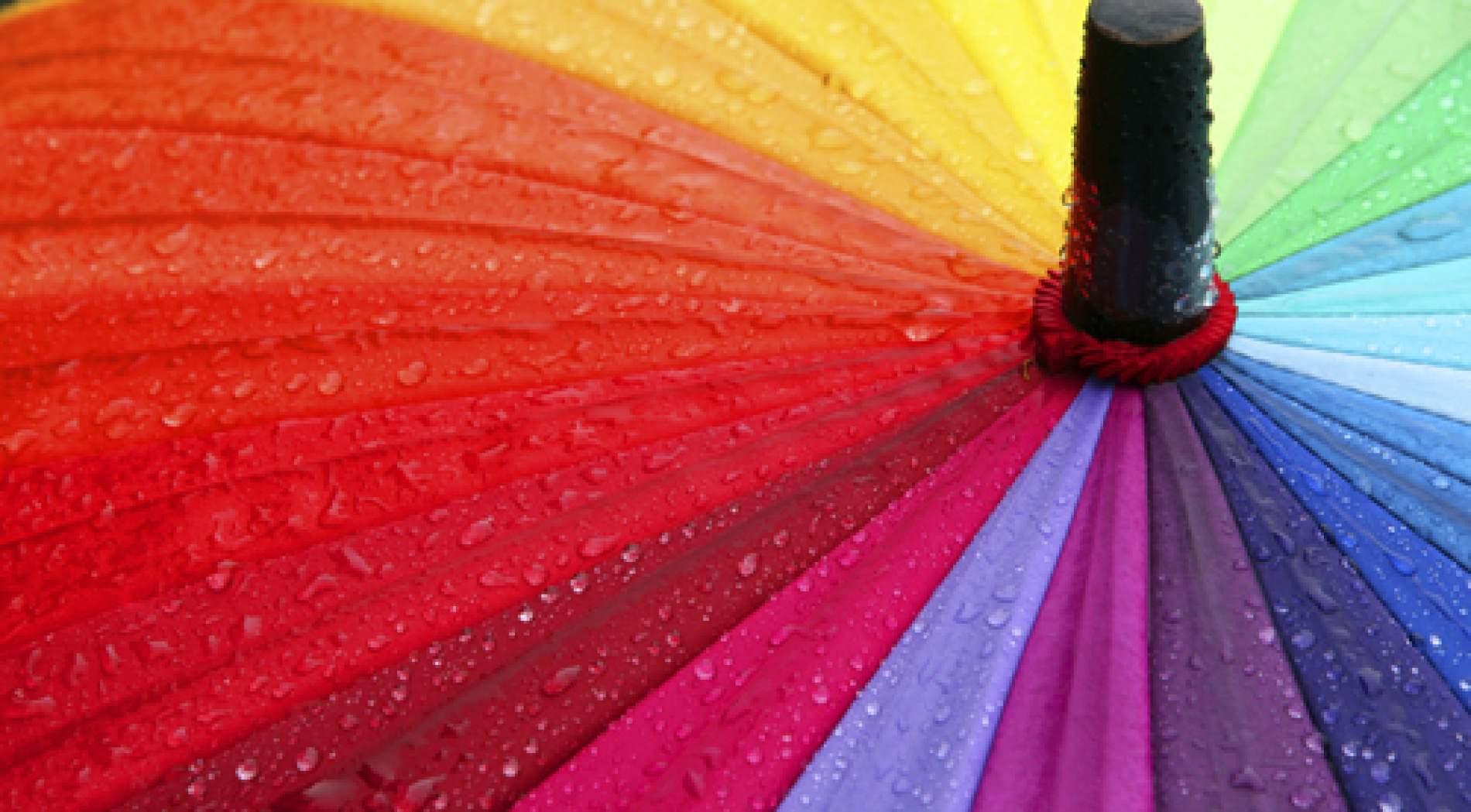 Rainbow unbrella