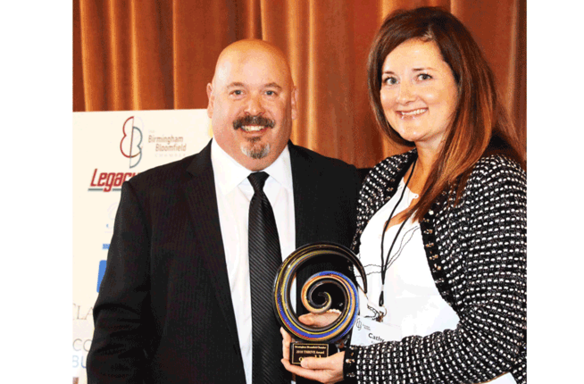Birmingham Bloomfield Chamber Presents Oswald Companies with 2018 Thrive Award