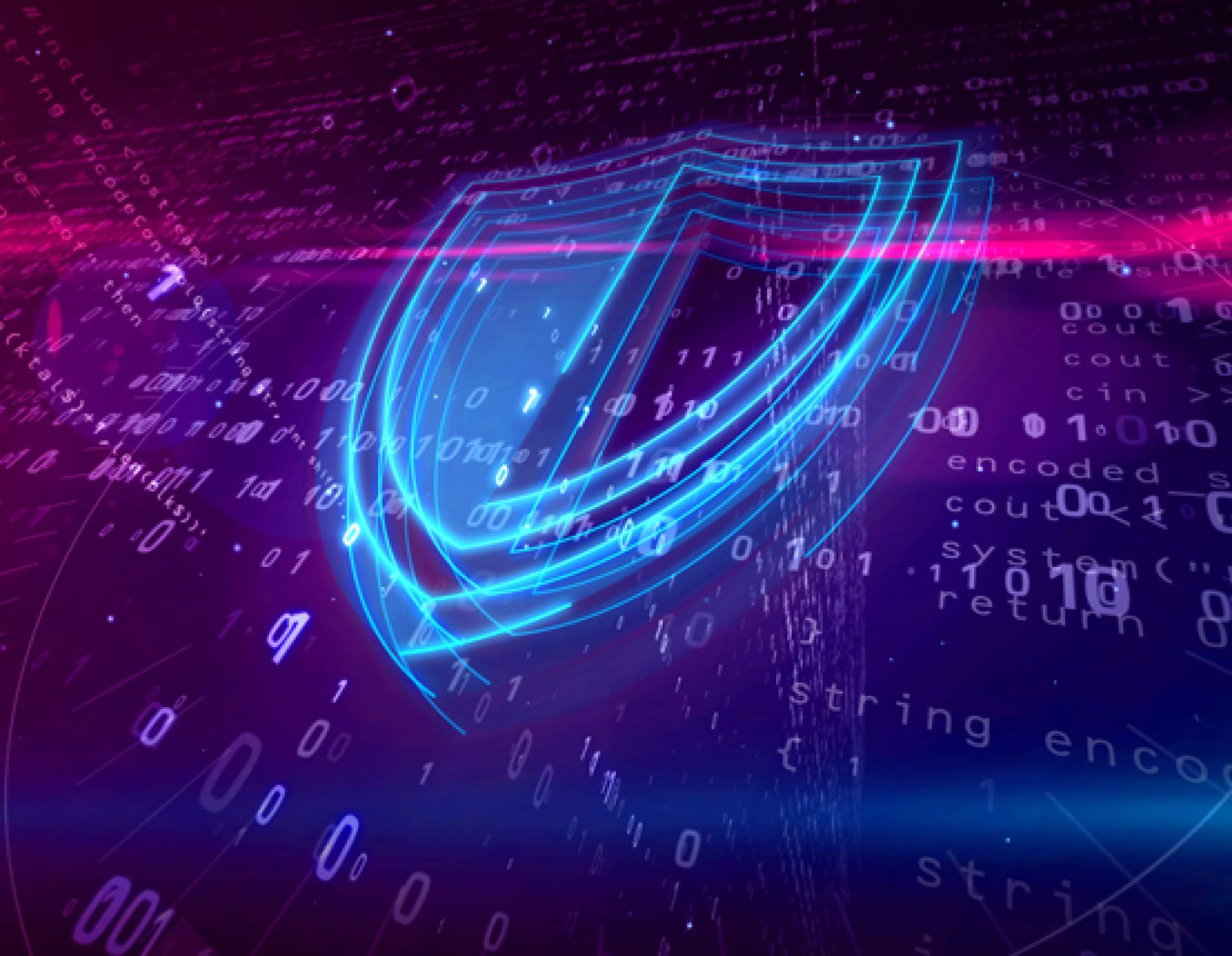 Cyber shield protecting data