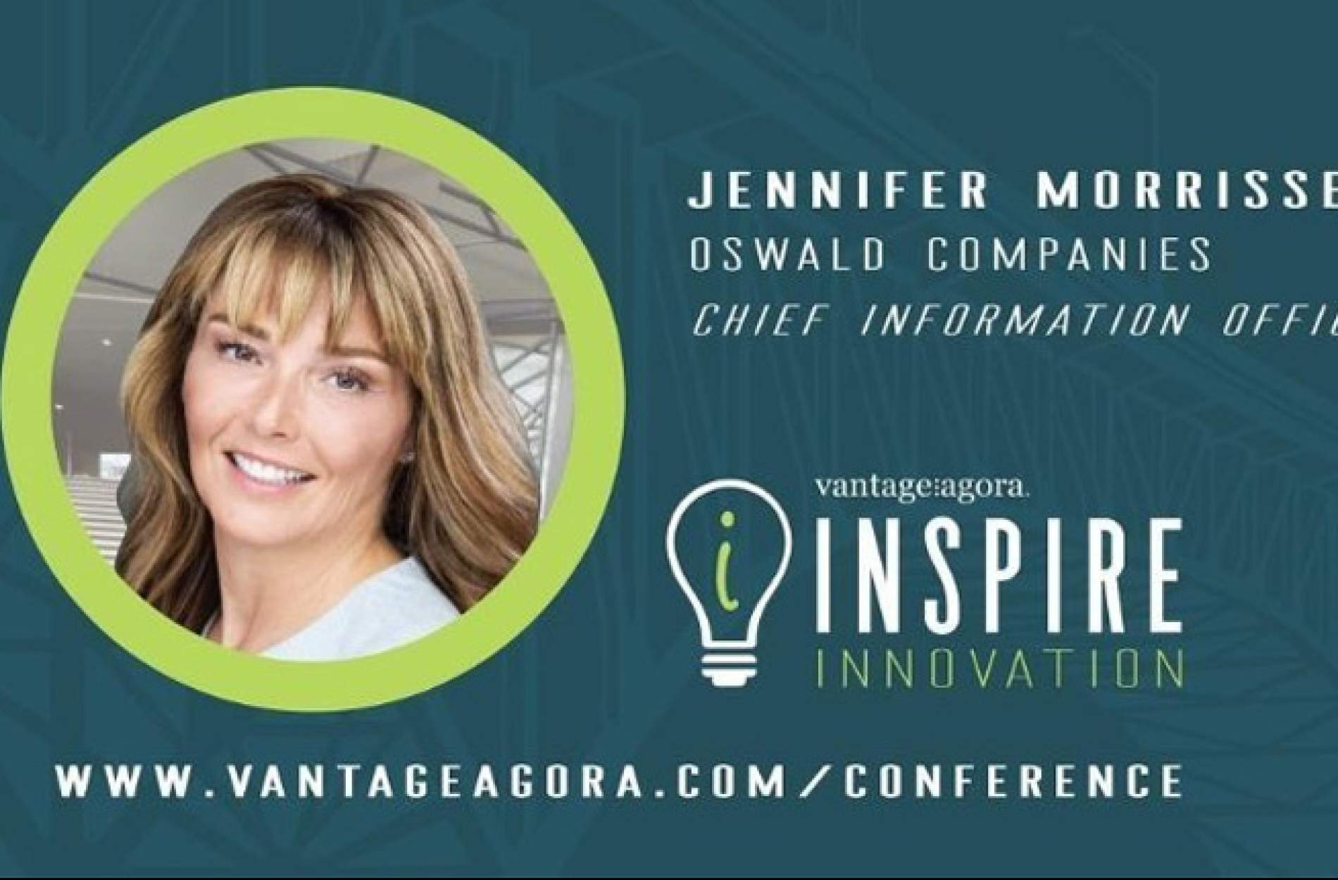 Oswald CIO Jennifer Morrissey to Present at the 2019 Inspire Innovation Conference Sept. 23