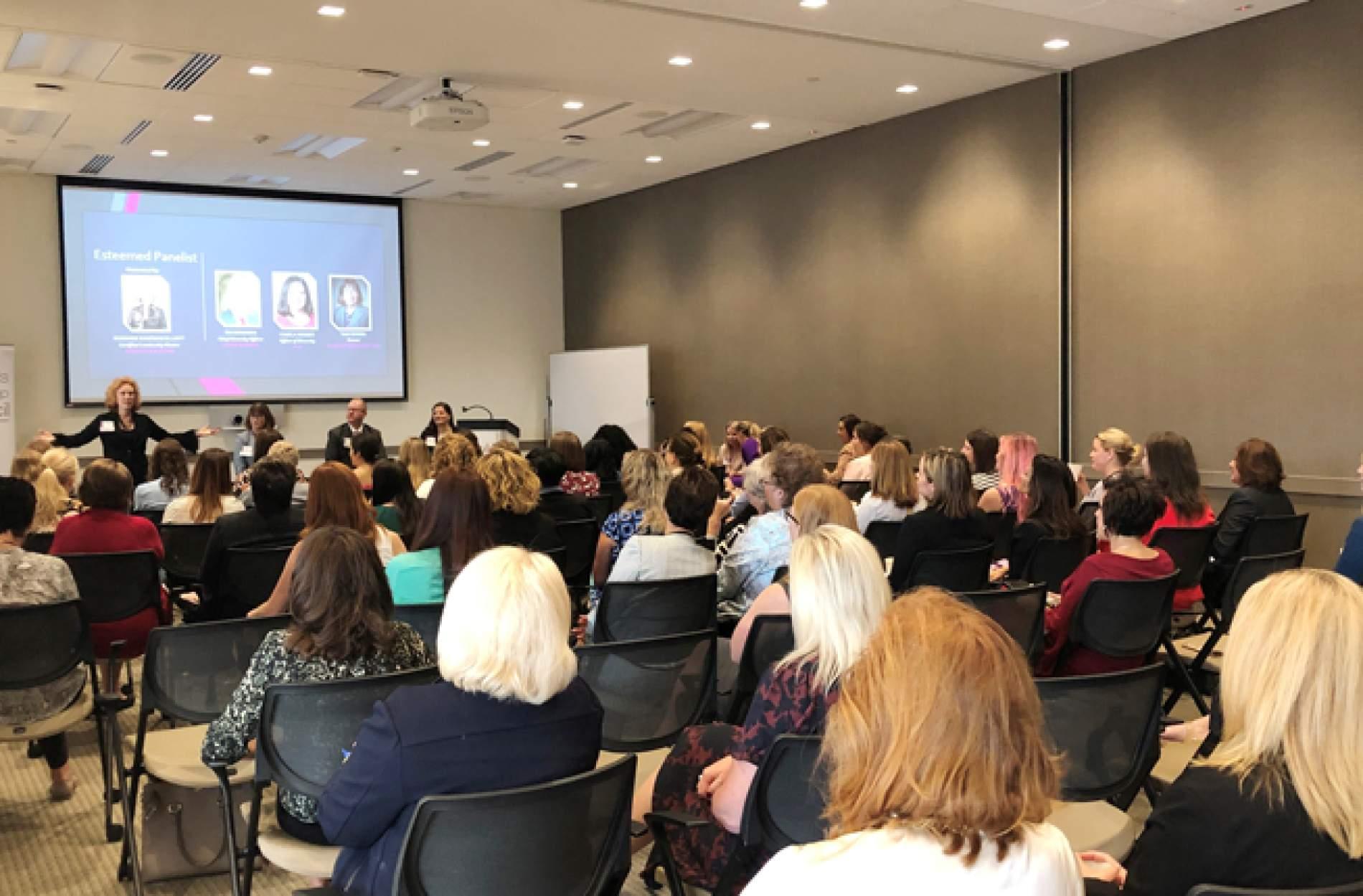 women audience