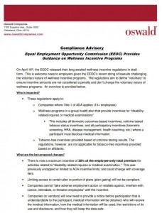 EEOC Wellness