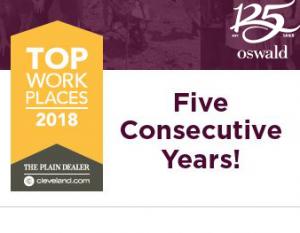 Cleveland Plain Dealer Top Workplaces 2018