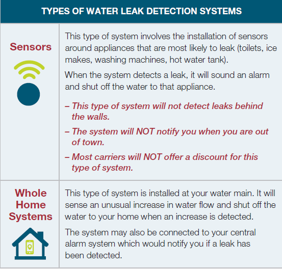 Types of Water Leak Detection Systems