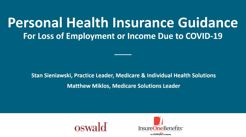 Personal Health Insurance Guidance