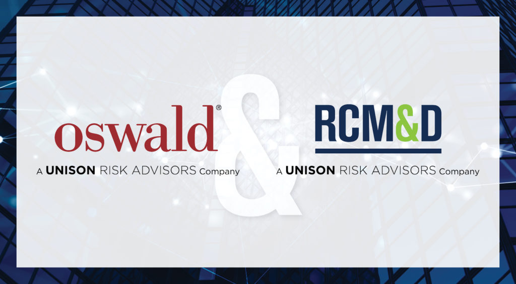 Oswald Companies and RCM&D Announce Strategic Merger